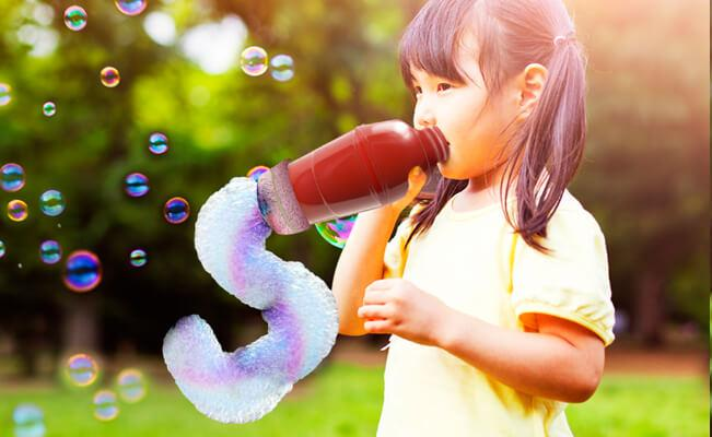 Rainbow Bubble Snake